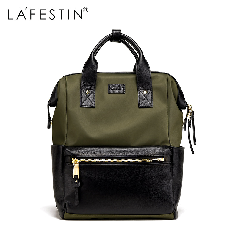 Detail Feedback Questions about LAFESTIN Brand Women Backpack Fashion  Simple Travel Backpack Teenager Girl School Bag Preppy Style Mochila Female  Rucksack ... 0604cfeb73e39