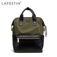 LAFESTIN Brand Women Backpack Fashion Simple Travel Backpack Teenager Girl School Bag Preppy Style Mochila Female Rucksack