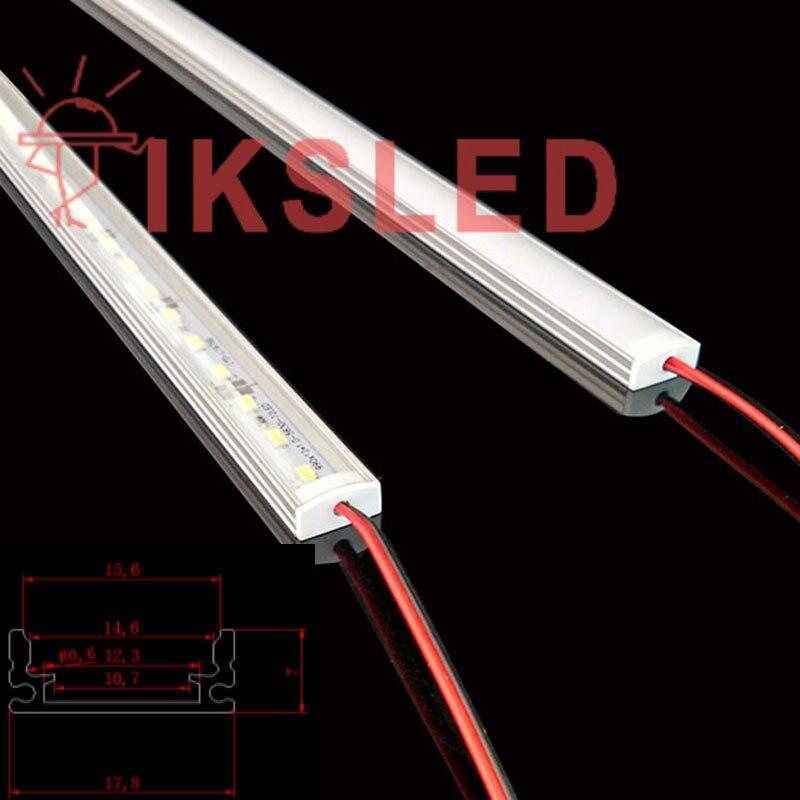 100pcs 100cm thin U 5730 rigid strip led hard strip 5730 LED strip hard lights bar light high light LED strip jewelry counter
