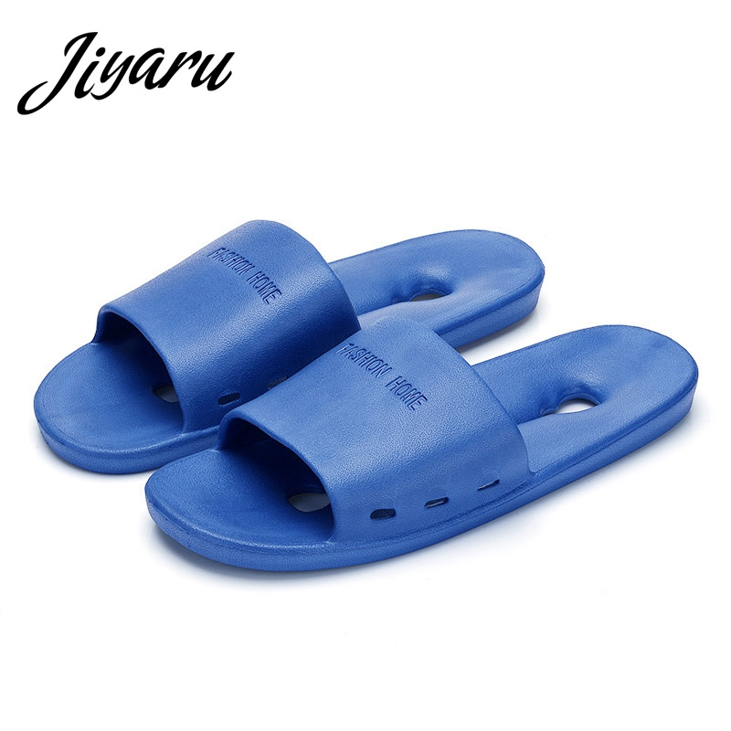 Men Slippers Shoes Male Home Bathroom Skidproof Flat Slippers Men Autumn Summer Home Slippers Male Casual Indoor Outside Shoes fghgf shoes men s slippers kma