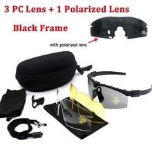 3.0 Polarized Tactical Glasses Military Goggles Army Sunglasses Outdoor Airsoft Hunting Sunglasses UV400 Protection Eyewear недорго, оригинальная цена