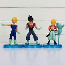 Hot Selling Japanese Anime Dragon Ball Z Gokun Gohan Goten PVC Action Figures Model Dolls Toys Gifts 11cm