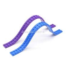1.5×25 cm Colorido Nimuno Loops 2×32 dots Macio Cinto Bloco único venda Modelo de Blocos de Construção Tijolos brinquedos Nenhum Adesivo
