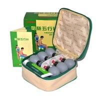 18 cái Bạc Haci Magnetic Therapy Hút hộ gia đình Ly Chân Không Bấm Huyệt châm cứu và moxibustion Thử Nếm Set Chăm Sóc Sức Khỏe
