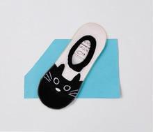 cute cat boat socks women summer anlimal funny socks girls cartoon low cut sweet sokken invisible candy slippers cheap sale sox