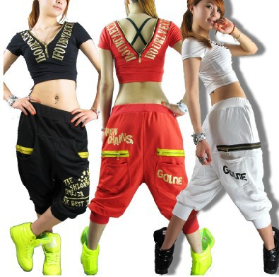 New Fashion 2015 Brand Women Hip hop pants dance wear sweatpants ds costumes loose casual female pant harem trousers