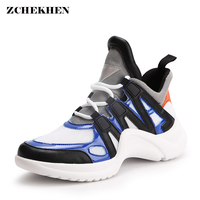 Vintage Dad Shoes Designer Spring Casual Shoes Outdoor Walking Chunky Sneakers Shoes Woman Flats Lace Up