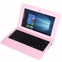 10.1 pulgadas Intel Baytrail-CR Z3735F Quad-core de Windows 10 y Andriod 5.1 Dual OS 1 GB 16 GB NetBook Tablet PC WiFi LAN Ethernet HDMI