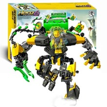 купить Hero Factory 6 Star Soldier Evo Xl Machine Robot Building Block Compatible With Legoings 44022 Brick Toy по цене 908.58 рублей