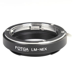 Image 1 - FOTGA LM NEX アダプタリングにライカ M レンズ用ソニー E マウント A7III A9 A7R A6000 A3000 NEX 7 6 5 3 5N 3VG10E VG20E