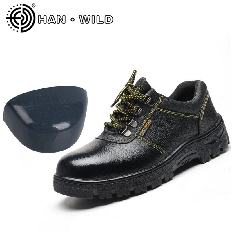 Chaussures de sécurité anti-chocs Stab orteil en acier bottes décontractées pour hommes Anti-crevaison Durable respirant chaussures de protection hommes chaussures