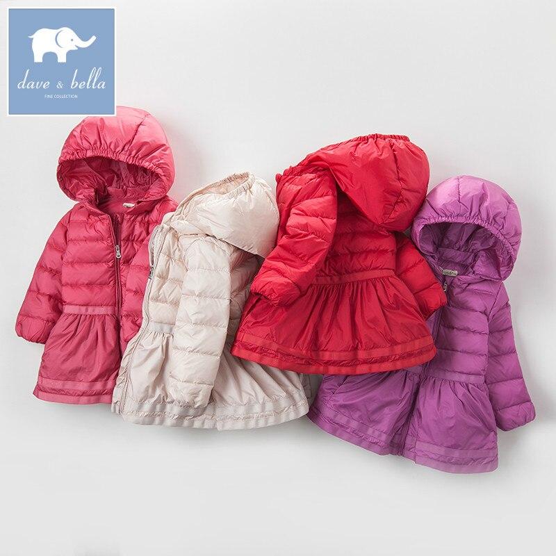 6e0938e35bc0 DB4276 dave bella 4 color winter baby girls down jacket children ...