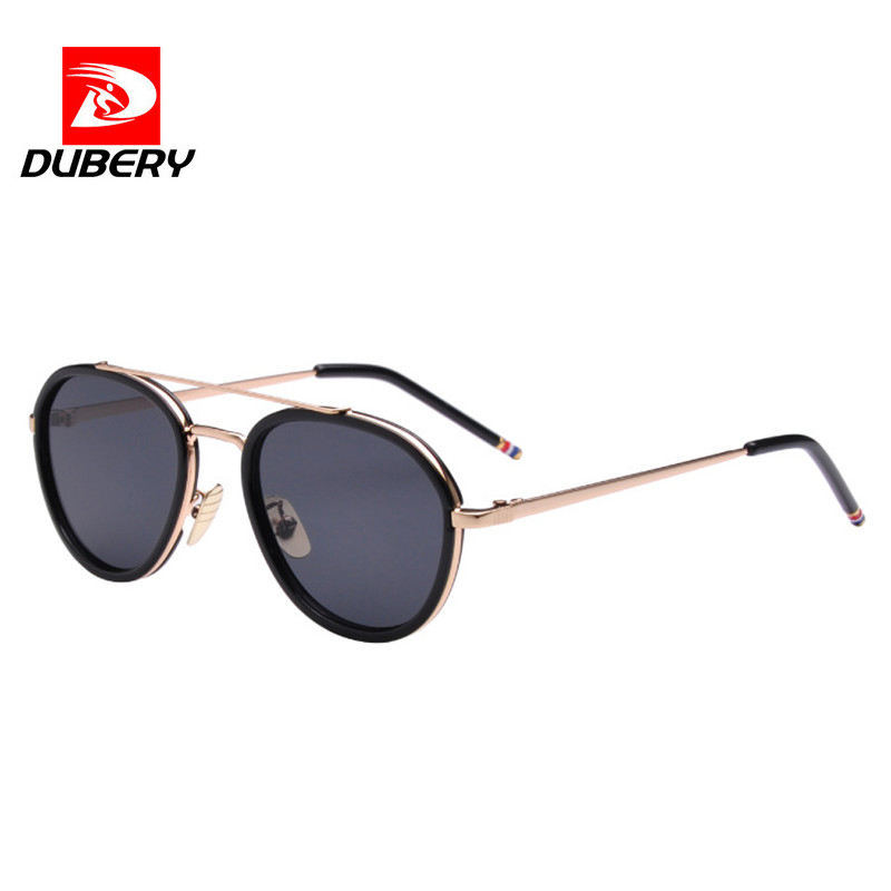 DUBERY 2018 Fashion Style Sunglasses Men Women Color UV400 Reflective Mirror Sun Glasses Oculos De Sol Gafas Masculino D1801