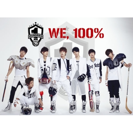 100% SINGLE ALBUM - WE , 100%  Release Date 2012.09.21  KPOP купить