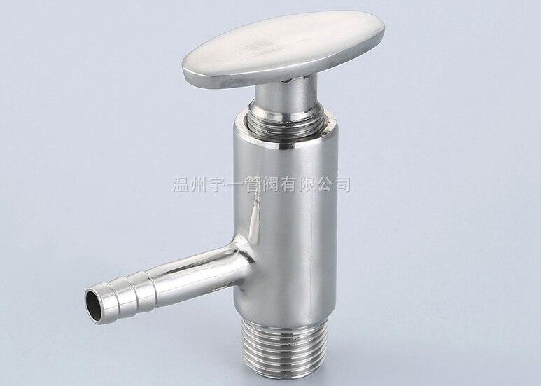 Free shipping Sanitary TriClamp Sampling Valve - 1.5 TC x 12mm Hose Barb hot sale weld sampling valve dn19 sanitary sampling valve stainless steel valve