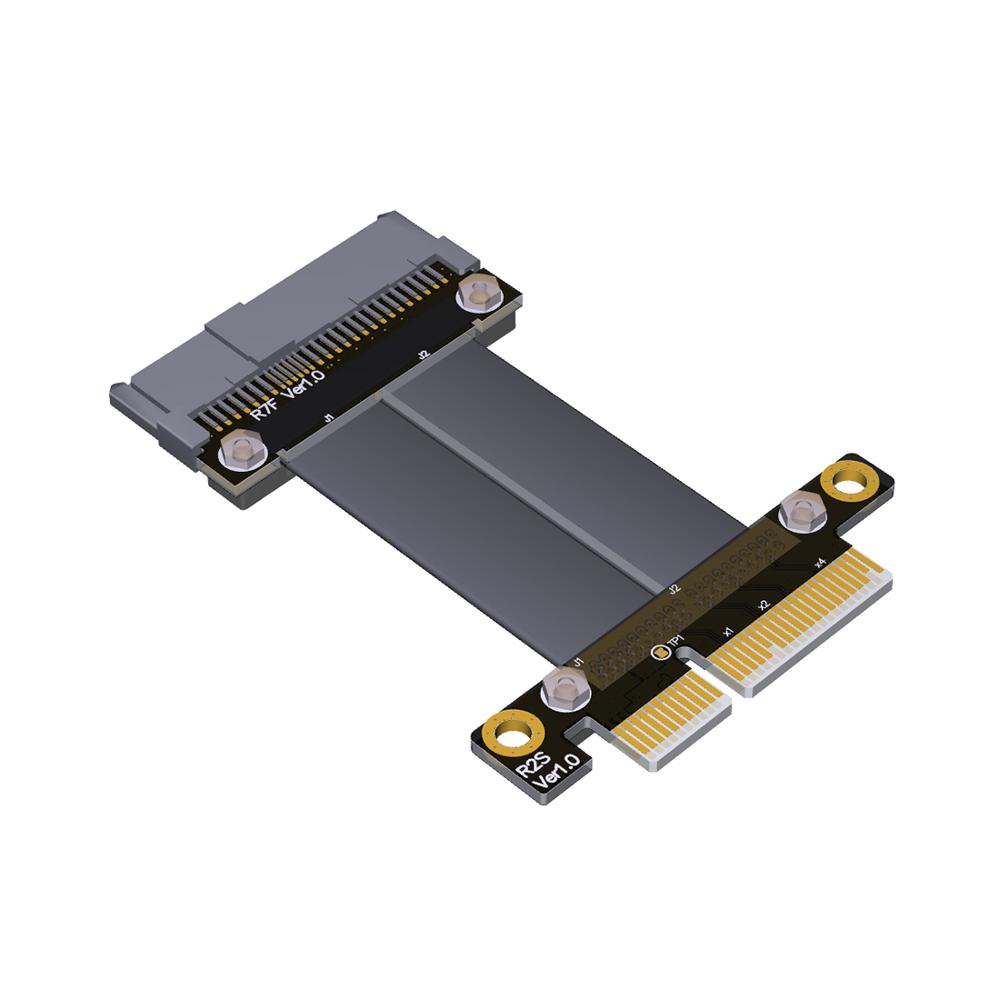 U2 U.2 NVMe SSD to PCI-E 3.0 x4 SFF-8639 NVMe PCIe Extension Data Cable High Rate Transmission 8G/bps 30CM