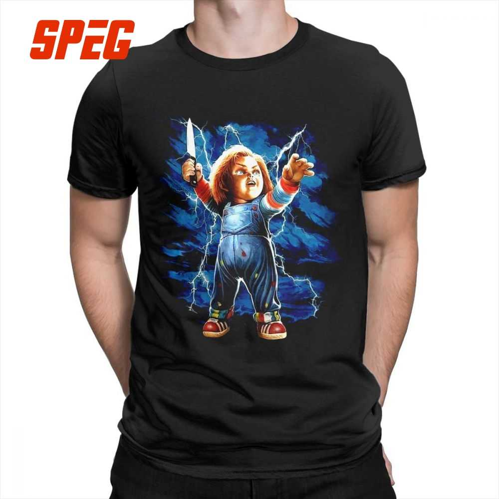 e3bb70e66 Men's T Shirt Seed Of Chucky 100% Cotton Clothing Plus Size Men Short  Sleeve Tees