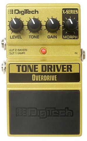 DigiTech XTD Tone Driver Overdrive Pedal digitech чехол gb200