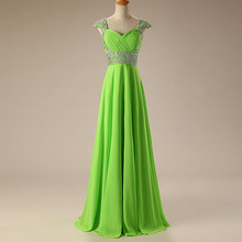 a803fa689b7 Diamonds Simple Chiffon 2018 New Women s Elegant Long Gown Party Proms For Gratuating  Date Ceremony Gala Evenings Dresses Upa1 Z
