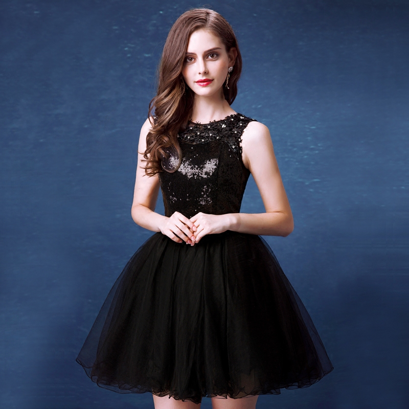 Cocktail Dresses Black Color