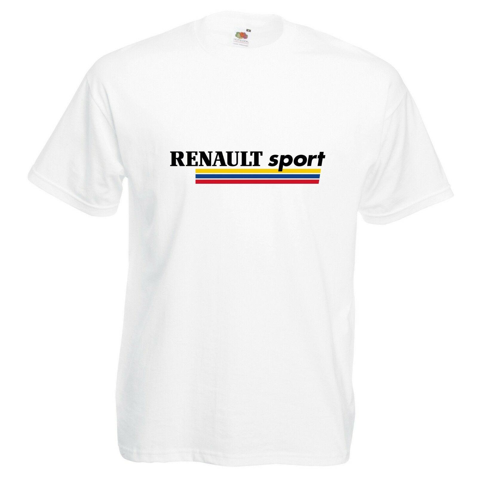 Renault Sport T-Shirt VARIOUS SIZES /& COLOURS Megane Clio RS