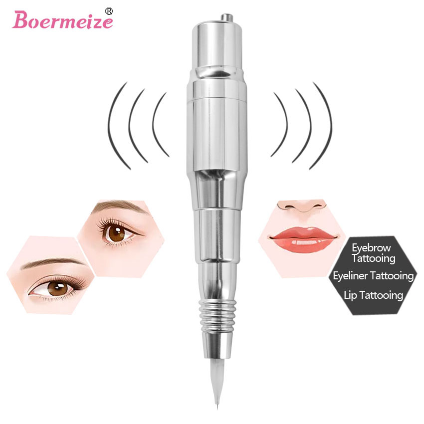 Hot Sale Digital Permanent Makeup Pen machine High quality Professional For Eyebrow Lip Swiss Motor Tattoo Gun + 5 Needles+5 TipHot Sale Digital Permanent Makeup Pen machine High quality Professional For Eyebrow Lip Swiss Motor Tattoo Gun + 5 Needles+5 Tip