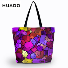 Shopping Bag  Large reusable Packing storage female/Women Beach Tote Shoulder