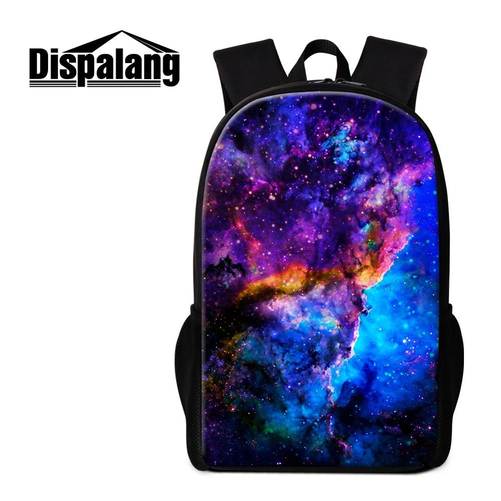Girls Boys Galaxy Starry Backpack Schoolbag Combo Lunch Bag Pencil Bag Wholesale