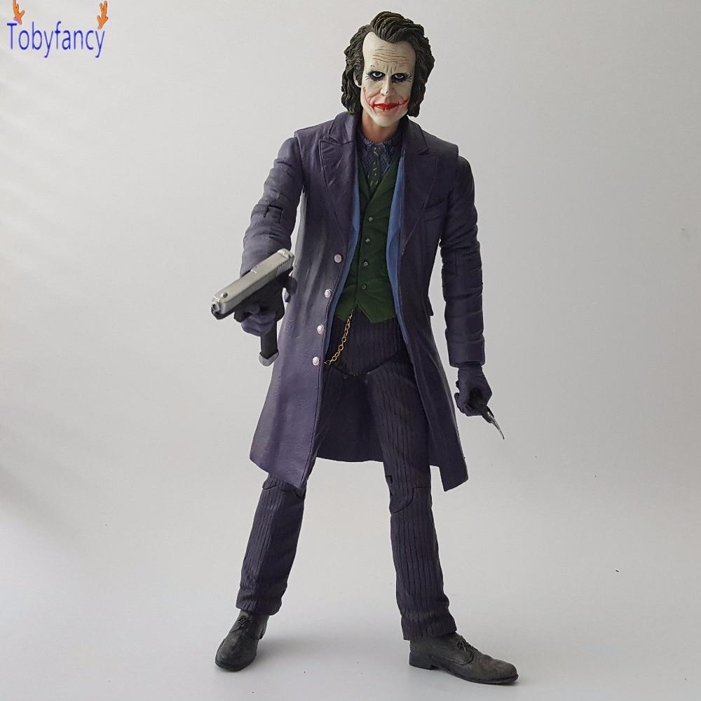 Batman Action Figure The Joker PVC Anime Movie Suicide Squad Collectible Model Toy The Dark Knight Batman Joker 260mm shfiguarts batman injustice ver pvc action figure collectible model toy 16cm kt1840
