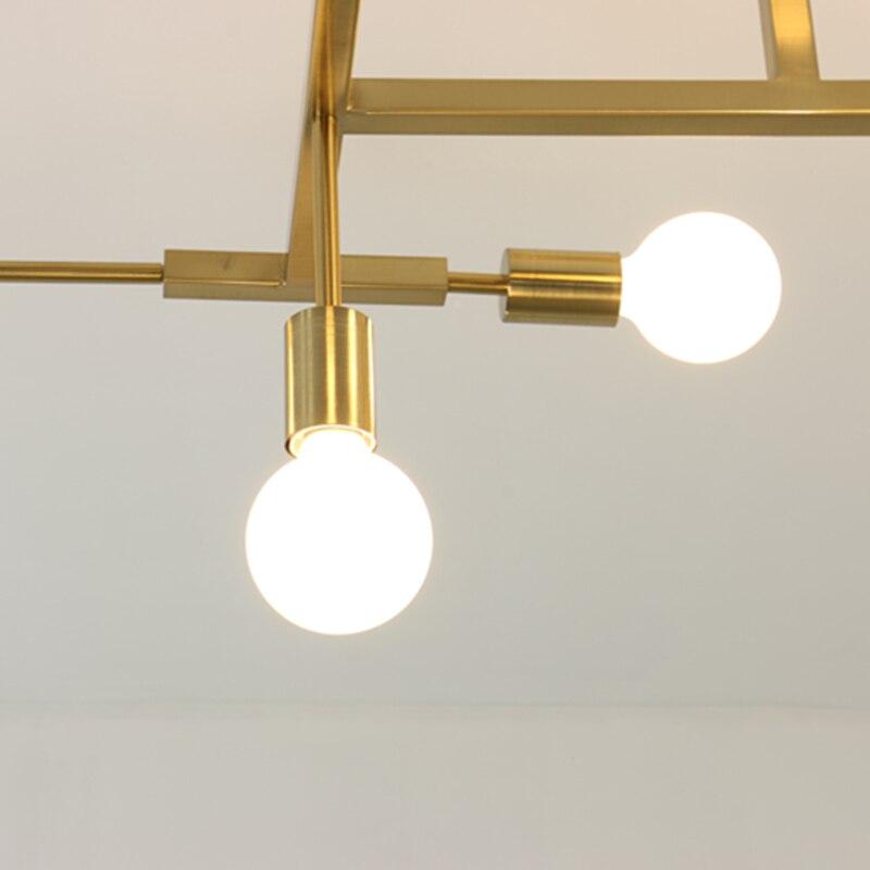 Pendant Lights Nordic Modern Gold LED bedroom dinning room kitchen ...
