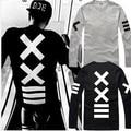 Japan New Print Man's Tops & Tees Autumn Men Long Sleeve T-Shirt  Shirt Hip Hop Streetwear O-neck Rock Punk T- shirt