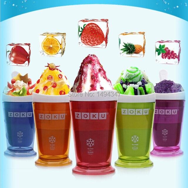 US $44 99 |Summer home drink Ice Cream bottle fruit juice smoothie cup DIY  milkshake cup ice cream machine fruit smoothie cooking tools-in Water
