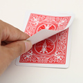 Retail Magic Card  Bicycle Card Blank Face Red Back Gaff  1pcs Free Shipping