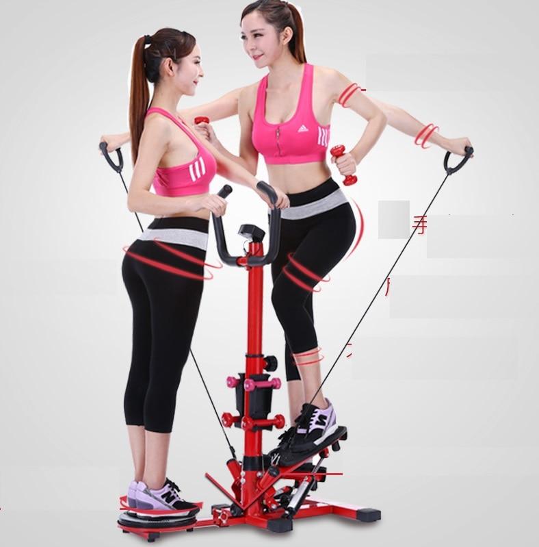 цены Multifunctional lose weight sports machine aerobic sports / Hiking stepper fitness equipment / Household foot machine