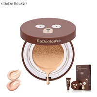DoDohouse 12ml Air Cushion BB Cream+15ml Refill Concealer Bare makeup Beauty whitening Cosmetic Brighten Complexion Easy to Wear