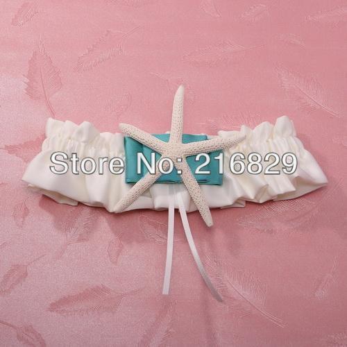 Beach Wedding Garter: Free Shipping Beach Theme Starfish Wedding Garter / New