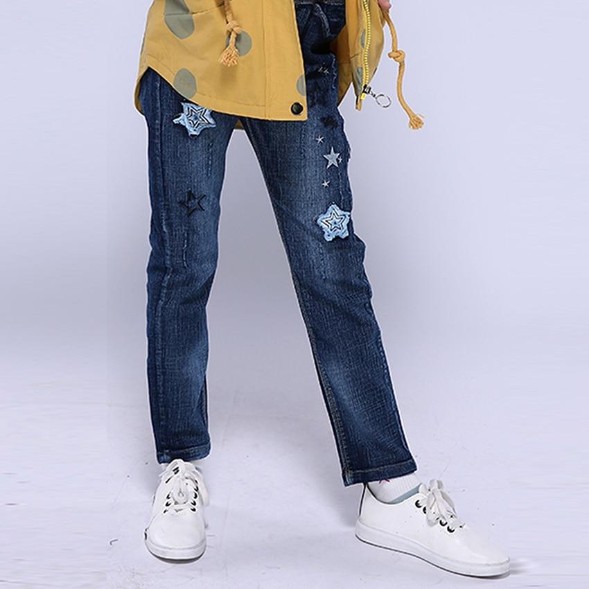 2999411741e756 Bambini Jeans Strappati Per I Vestiti Delle Ragazze Paillettes ...