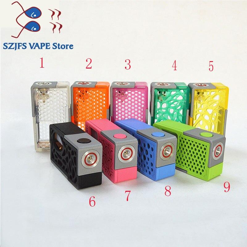 Original 100% Sub Two XBOX Mechanical Squonk Box MOD 8ml Silicone Bottle 18650 20700 Battery Auto-setting Vape Mods Vs GEN 25