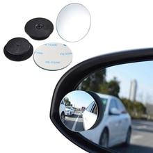 360 градусов широкоугольное круглое выпуклое автомобильное зеркало слепое пятно Авто заднего вида помощь парковочное зеркало автомобильный стиль