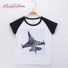 цены 2019 Hot Sale Kids T-shirt For Children Clothing Fighter 3D Print Cotton Short Sleeves Boys T Shirts Baby Girls Clothes Tops Tee