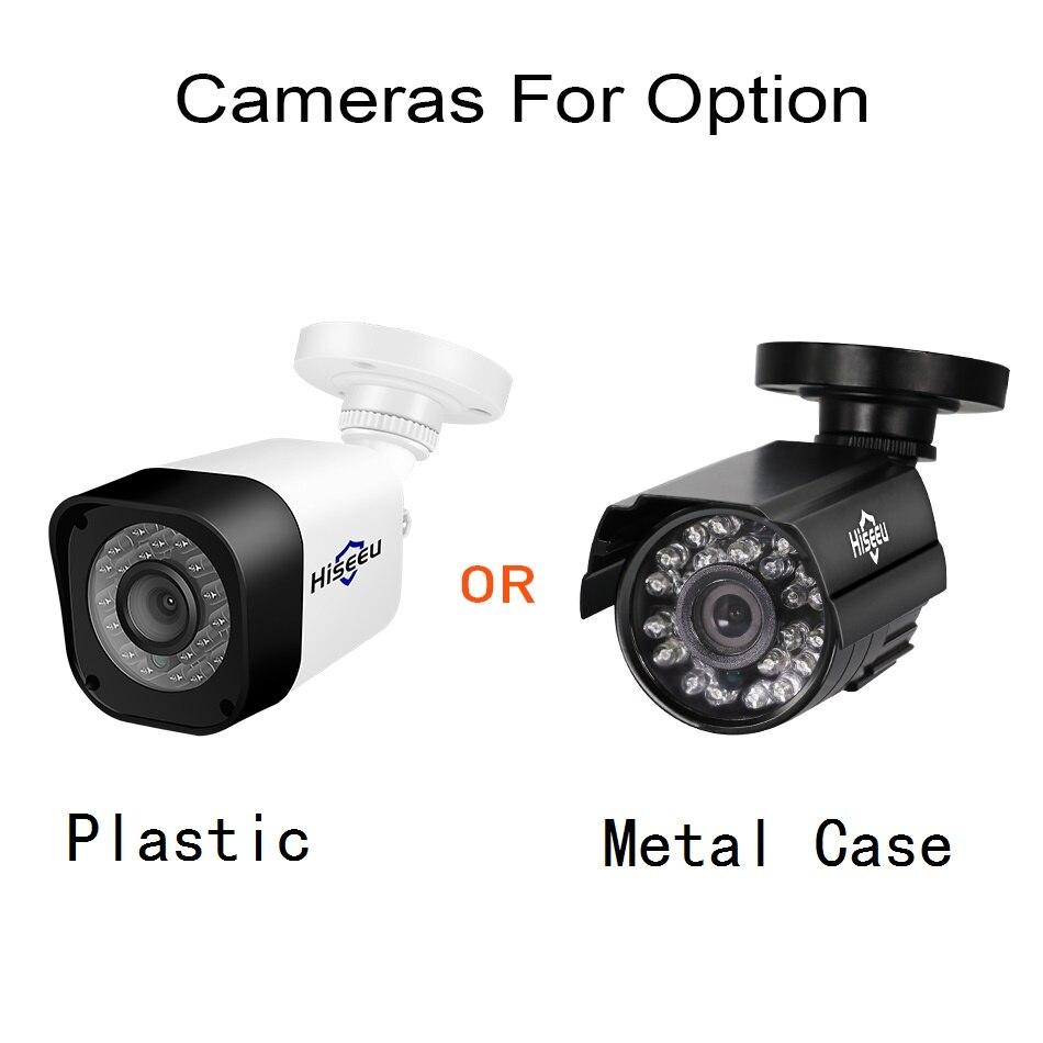 HTB1Lwj7I9zqK1RjSZPcq6zTepXaU Hiseeu Home Security Cameras System Video Surveillance Kit CCTV 4CH 720P 4PCS Outdoor AHD Security Camera System