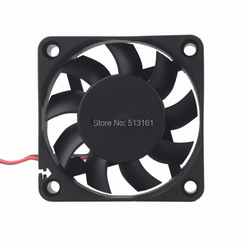 50PCS Gdstime Quiet 60mm PC CPU Cooling Fan 5V 2Pin 6015 6cm Computer Case Cooler 60x60x15mm in Fans Cooling from Computer Office