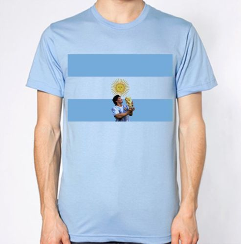 Argentina New T-Shirt Country Flag Top City Map