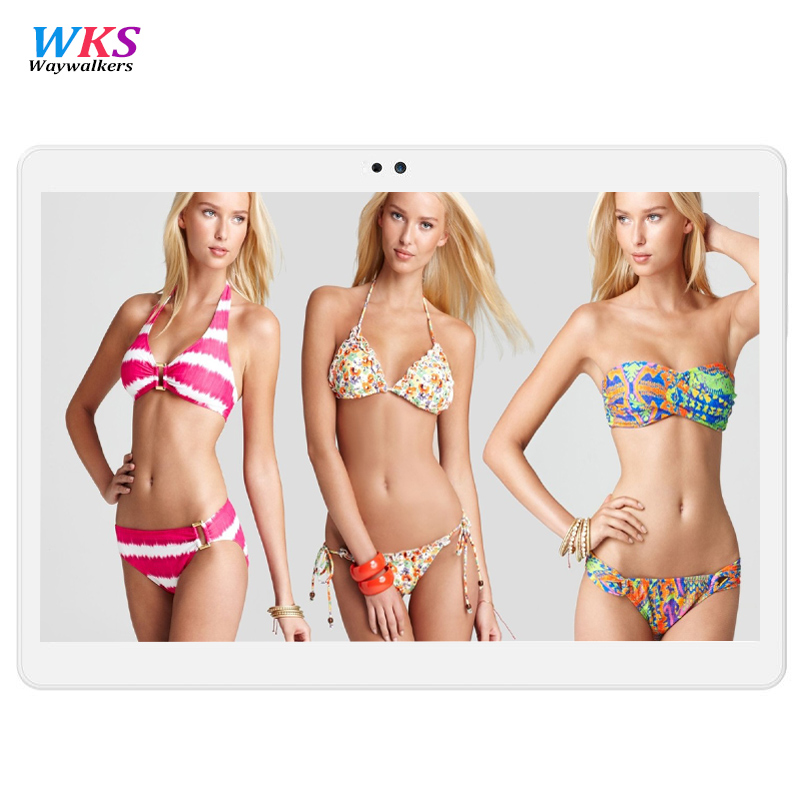 Waywalkers M9 10 inch Tablet PC 4G Lte Android 6.0 Octa Core tablets 4GB RAM 64GB ROM Dual Cameras GPS 5.0MP GPS 1920*1200 IPS