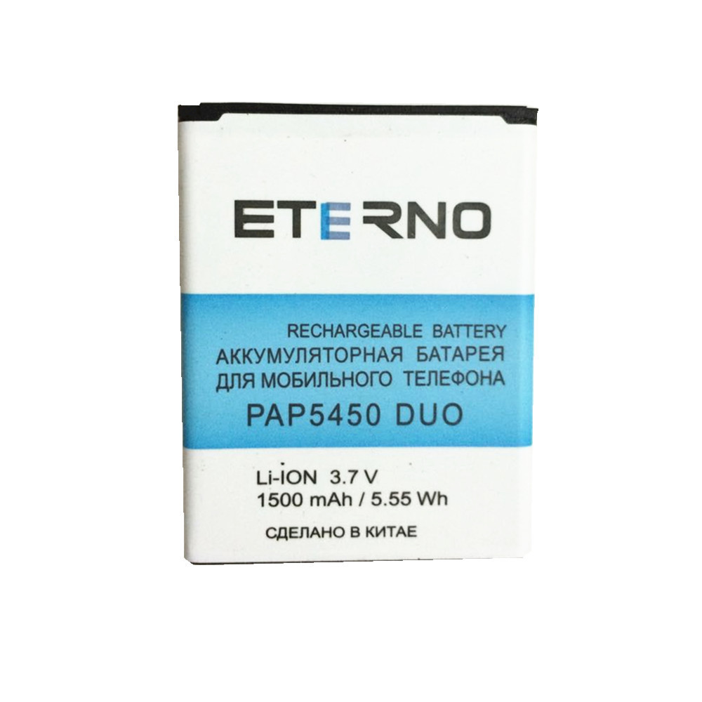 ETERNO mobile phone battery for prestigio multiPhone pap 5450 pap5450 duo cellphone replacement battery 1500mAh