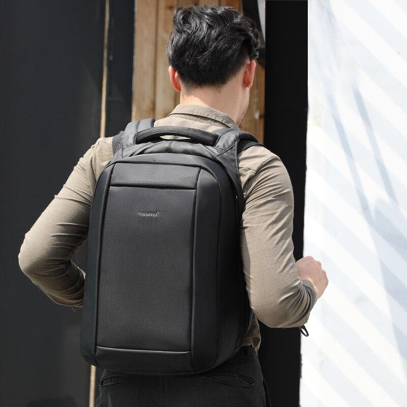 Tigernu Étanche Anti Vol Hommes Sacs À Dos de 15.6 pouces Ordinateur Portable Portable sac à dos usb pour Adolescente Femmes mochila mâle - 2
