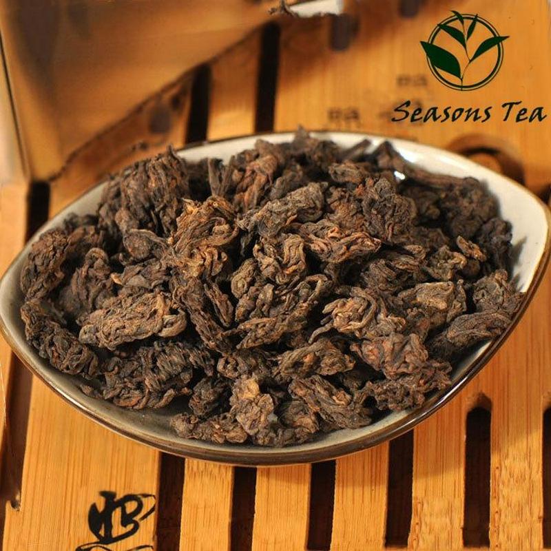 Yunnan Menghai Ripe Puer Old Tea Head Tea Organic Original Hoar Frost for Health Care Slimming Pu'er Pu Er Pu-erh Tea 250g [grandness] menghai v93 2007 701 yunnan menghai tea factory dayi taetea premium ripe puer pu er pu erh pu erh tuo cha tea 250g