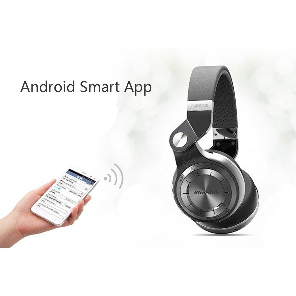 Bluedio T2 Bluetooth sans fil pliable casque avec Mircorphone 3d son Original casque pour téléphone portable pour Xiaomi écouteur - 4