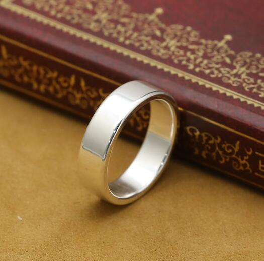 Handmade 999 Silver Ring Real Pure Silver Ring Unisex Silver Ring Jewelry Gift