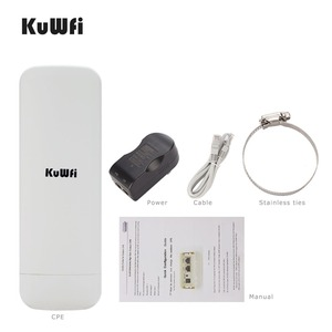 Image 5 - KuWfi 900Mbps Wireless CPE Router Outdoor Wireless Bridge Long Range 3.5KM WIFI Repeater WIFI Extender System for IP Camera POE